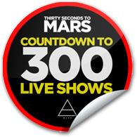 MARS 300 Sticker