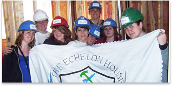 The Echelon House Volunteers