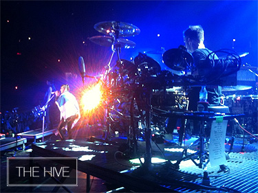 30STM on stage in Finland