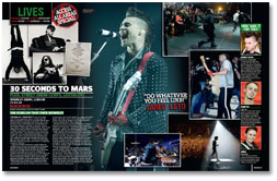 30STM in Kerrang's 03/03/10 Issue