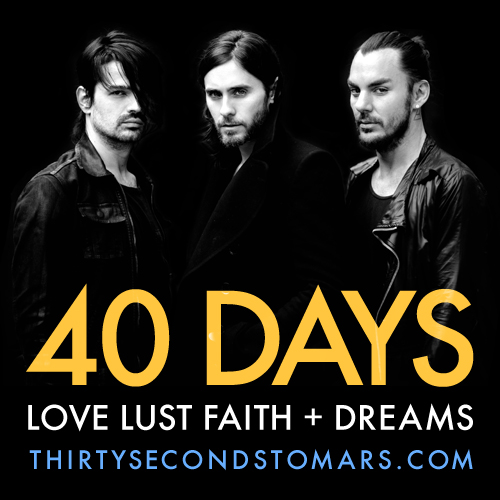 PRE-ORDER LOVE LUST FAITH + DREAMS NOW!