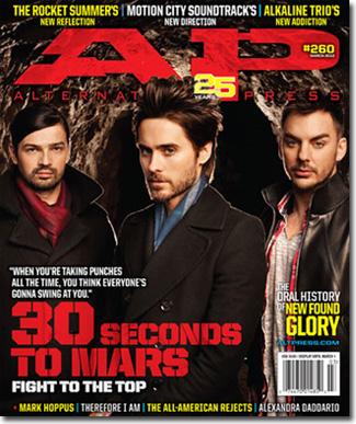 Alternative Press March 2010 Cover