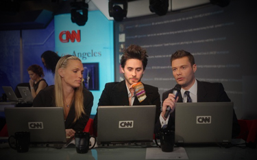 Jared on CNN to support Haiti