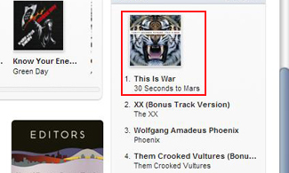 #1 iTunes Alternative Album