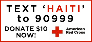 Text 'Haiti' to 90999 to Donate $10 Now!