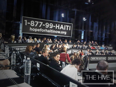 Hope fo Haiti Now Telethon