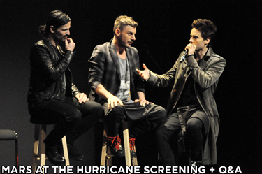 Mars at the Hurricane Screening