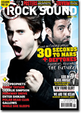 Jared on Rock Sound Magazine