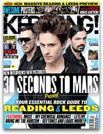 MARS in Kerrang