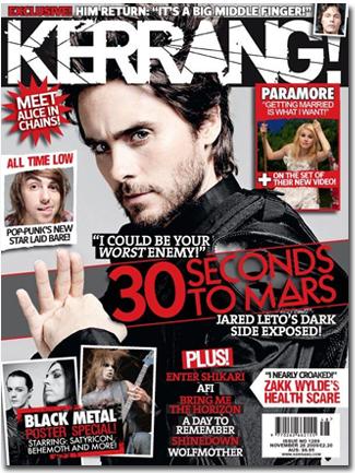 Kerrang Cover!