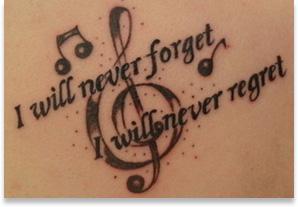Dursy's Tattoo