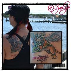 Izalye's MARS Tattoo