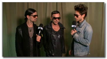 MTV Buzzworthy Video Interviews - Thirty Seconds To Mars (30 Seconds To Mars)
