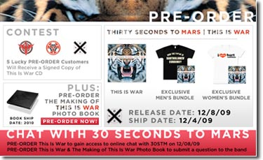 Chat with the band Pre-Order