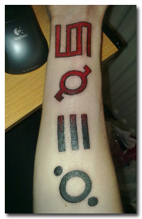 Mars Tattoos Feature