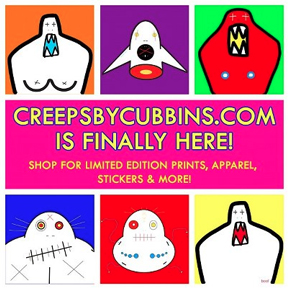 CREEPS by Cubbins Official Store