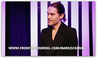 JARED'S Message, from Frontier Touring