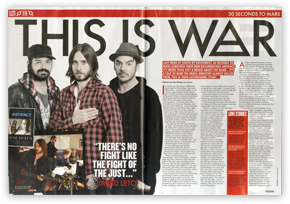 ARTIFACT in KERRANG! MAGAZINE