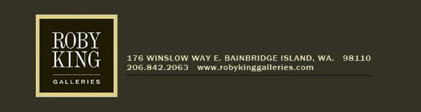 roby king art  galleries bainbridge island