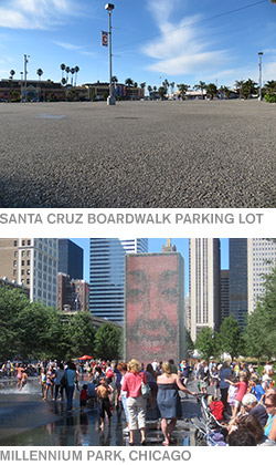Santa Cruz Parking Lot / Millennium Park, Chicago