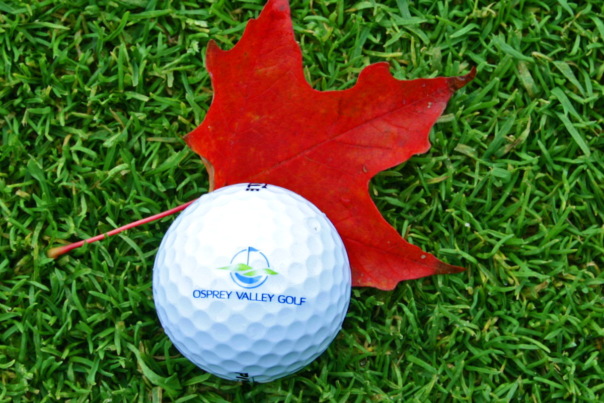 Osprey Valley Golf October Newsletter