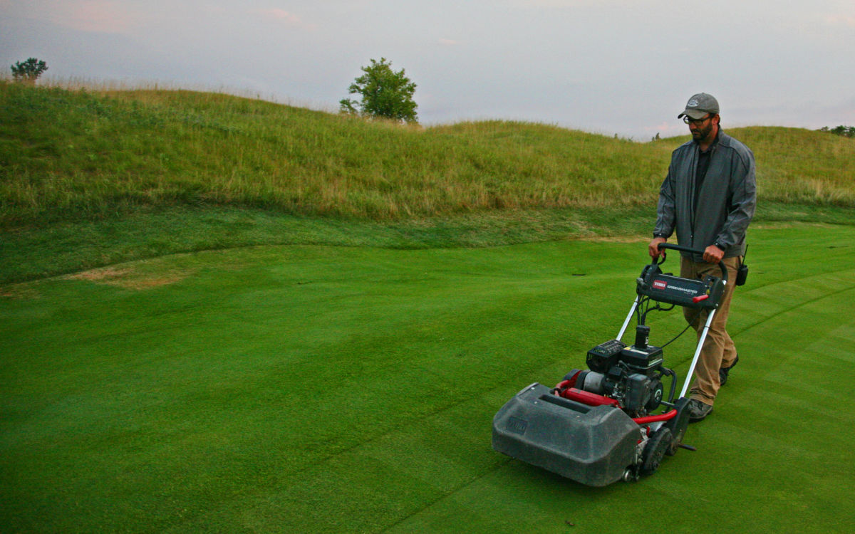 Walking Mower on Healthands #1 green