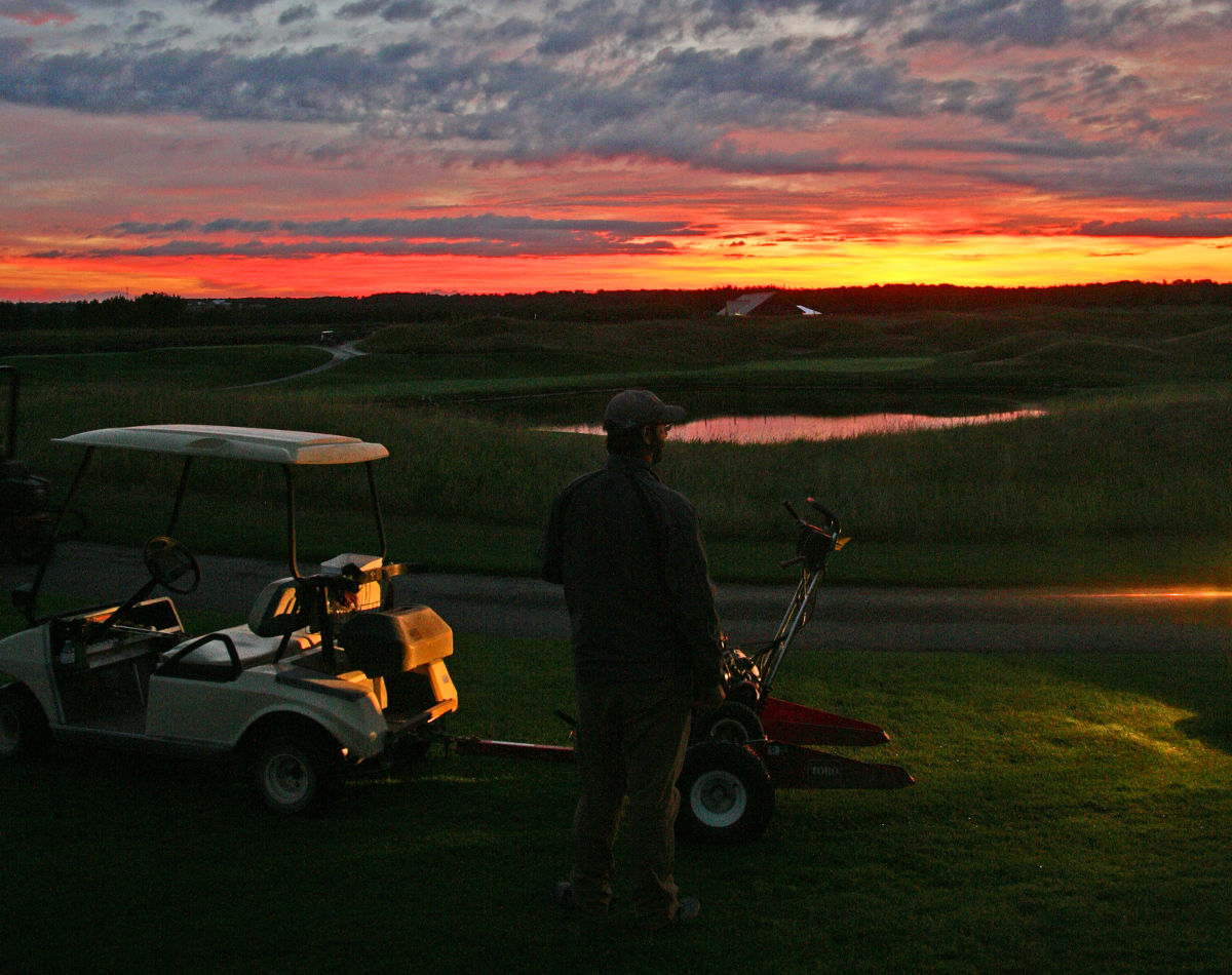 Sunrise Over Heathlands