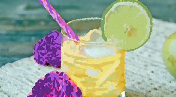 Frangelico on the Rocks With Lime