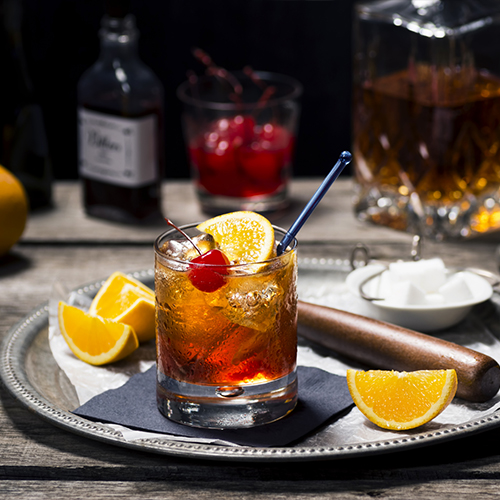 Wisconsion Brandy Old-Fashioned