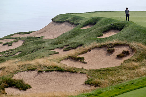 Whistling Straits Bunkers