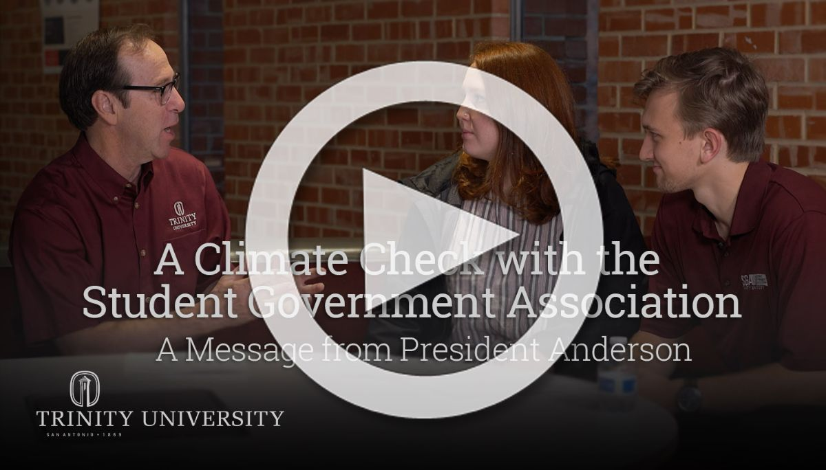A Climate Check with the Student Government Association