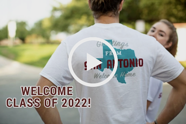 Welcome the Class of 2022 video