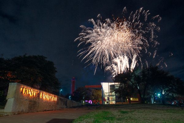 fireworks over northrup hall