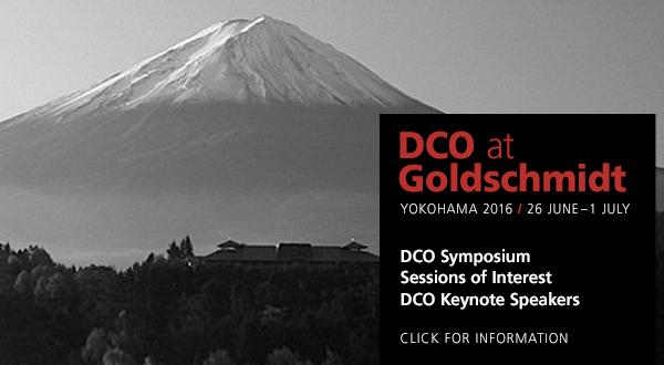 DCO at Goldschmidt 2016