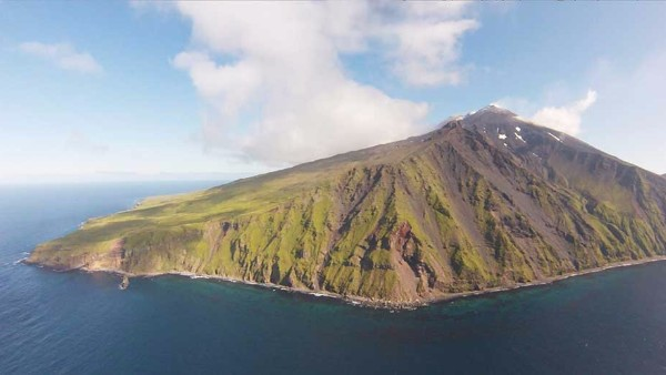 Gareloi volcano in the Western Aleutians