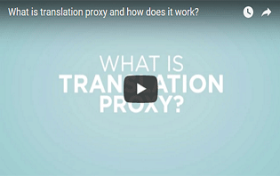 Video: What is translation proxy?