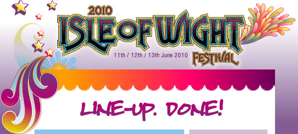The stunning line-up for this year's Isle of Wight Festival is now complete