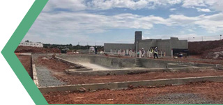 Image of onsite construction
