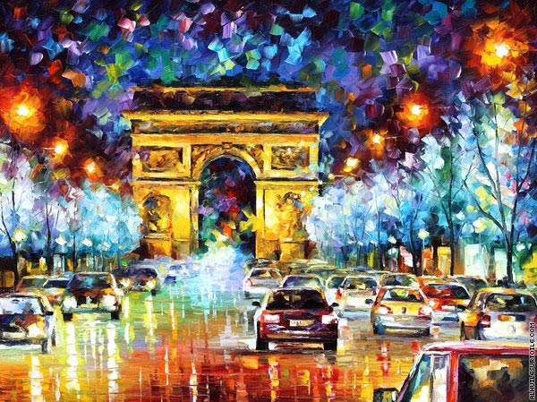 Paris (Afremov)