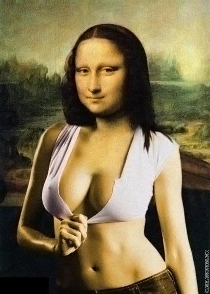 Mona Lisa XXL (d'après De Vinci)