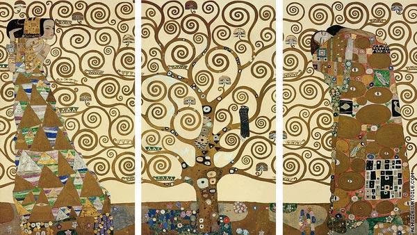 Triptyque de L'arbre de vie (Klimt)