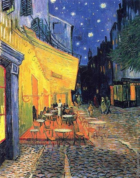 Terrasse de café la nuit (Van Gogh)