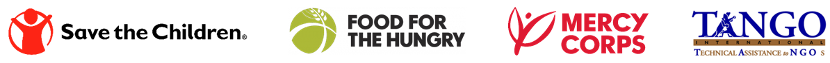 REAL consortium partner logos: Save the Children, Food for the Hungry, Mercy Corps, and TANGO International