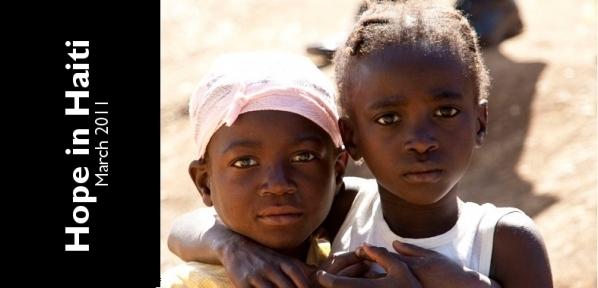 Young girls in Kawo, Haiti