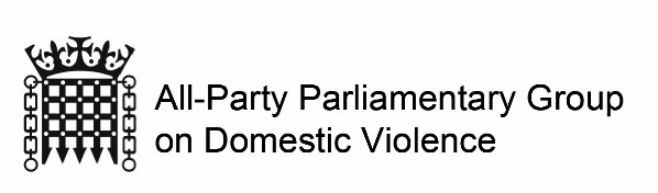 All-Party Parliamentary Group on Domestic Violence Logo