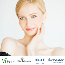 Buy a Vitalize Peel, VI Peel, or Obagi® Blue Peel, Receive a box of skinbetter science® Peels Pads for FREE