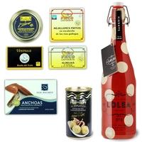 Sangria + Olive + Lotto di 5 conserve di mare da aperitivo