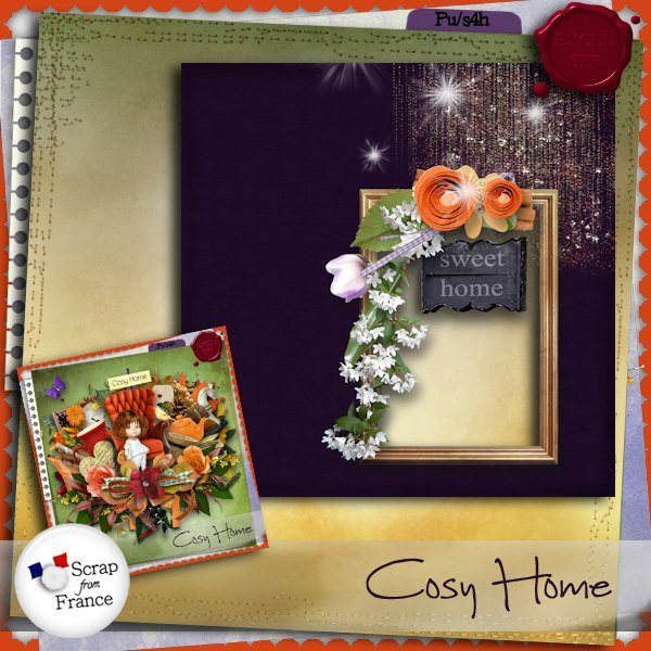 "Collab ""Cosy Home"" + freebie"