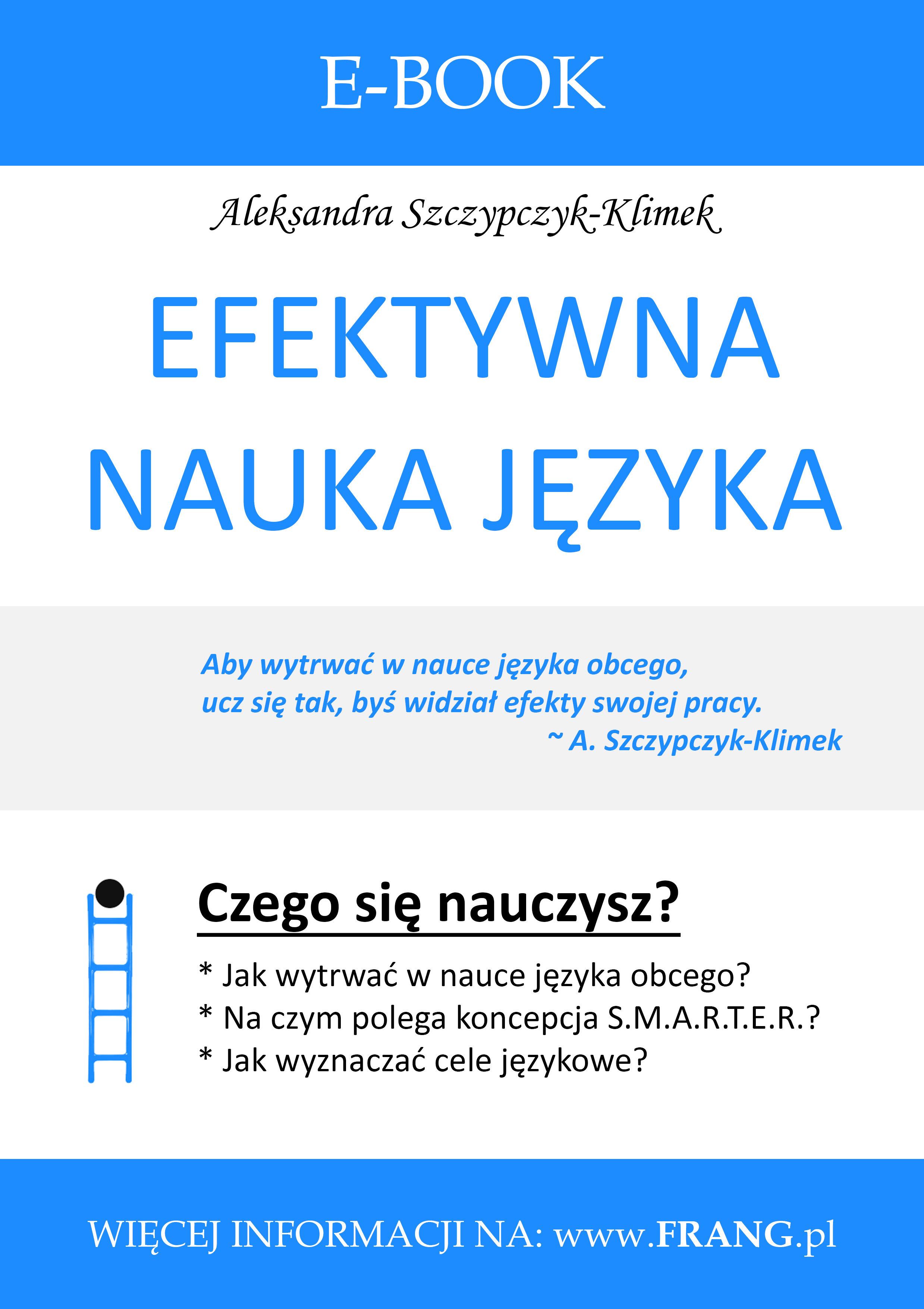 E-book ''Efektywna nauka języka''