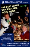 Best Little Whorehouse in Texas goes public play theatre
